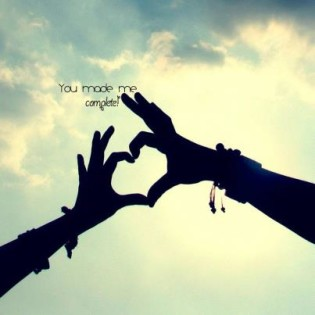 finger hearts